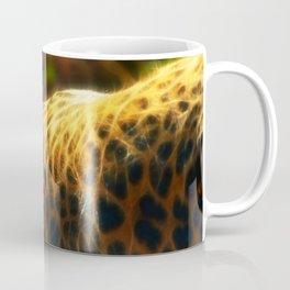 Cheetah fractal animal Coffee Mug
