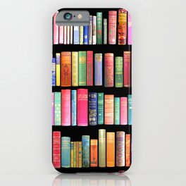 Vintage Book Library for Bibliophile iPhone Case