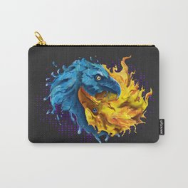 Eagles Elemental Yin Yang Carry-All Pouch