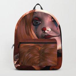 The sweet sad clown Backpack