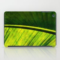 banana leaf iPad Cases featuring Banana leaf by helsch photography