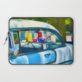 Food And Drink On Car Laptop Sleeve