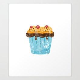 Funny Stud Muffin Brick Mason Husband print Art Print