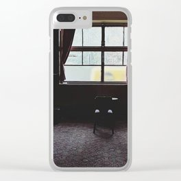 The room Clear iPhone Case