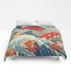 The Great Red Wave Comforters