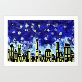 CityLight Art Print