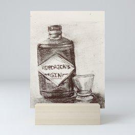Botanical Gin Mini Art Print