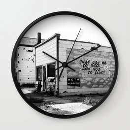 So I Said Yes To Life Instead! Wall Clock