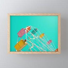 Ferris_Wheel - 2, Northern Michigan Framed Mini Art Print