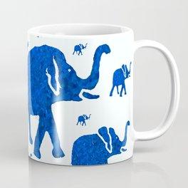ELEPHANT BLUE MARCH Coffee Mug