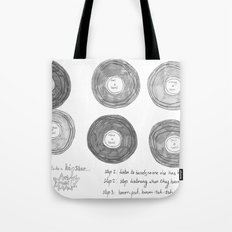 Hipsters Listen To Music Tote Bag