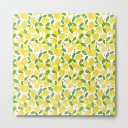 california lemons Metal Print