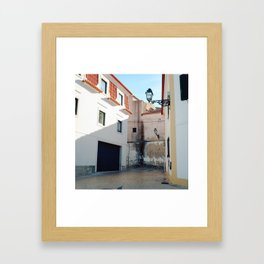 Portugal, Cascais (RR 187) Analog 6x6 odak Ektar 100 Framed Art Print