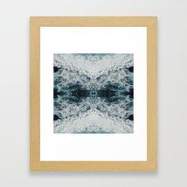 The White Horned Prince Framed Art Print