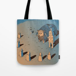 The Bison #1 Tote Bag