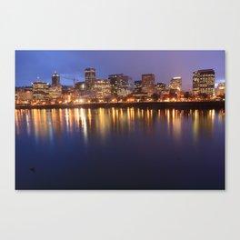 Portland Blues Canvas Print