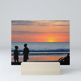 Romantic Sunset Mini Art Print