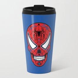 Spidey Sugar Skull Travel Mug