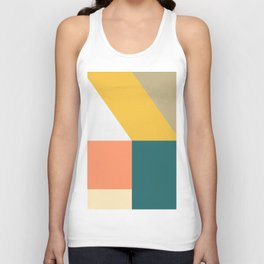 Abstract Geometric 18 Unisex Tank Top