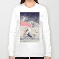 sisters Long Sleeve T-shirts featuring sisters by Peg Essert