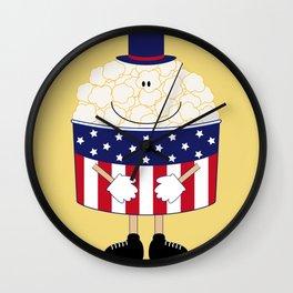 Mr.Popcorn Wall Clock