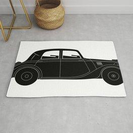 Coupe - vintage model of car Rug