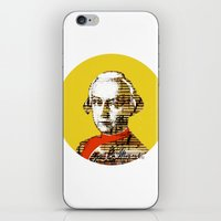 mozart iPhone & iPod Skins featuring Mozart Kugel Yellow by Marko Köppe