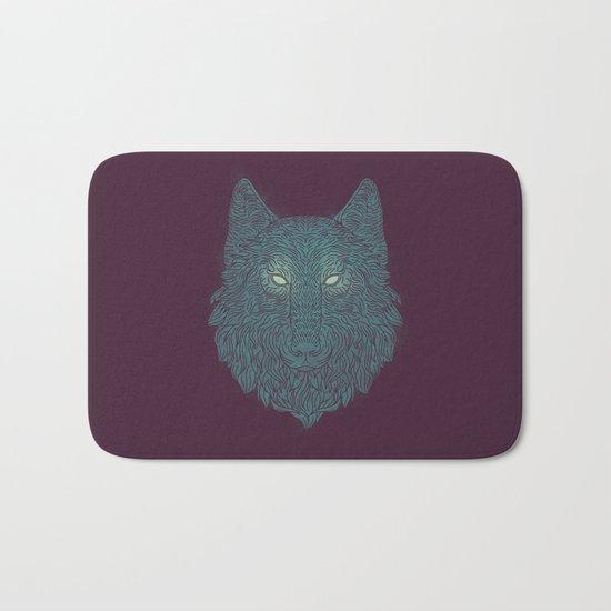 Wolf of Winter Bath Mat