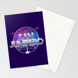 San Junipero - Black Mirror Stationery Cards