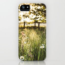At your fingertips iPhone Case