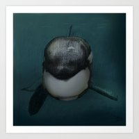 killer whale Art Prints featuring Killer whale by Johan Malm