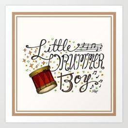 Little Drummer Boy Art Print