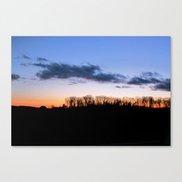 Fireline Canvas Print