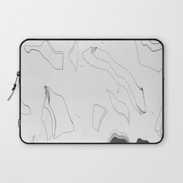Artistic Shaped Scan Laptop Sleeve