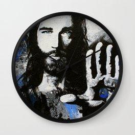 Living Proof Jesus Painting Wall Clock