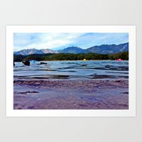 A Ripple on the Water Art Print