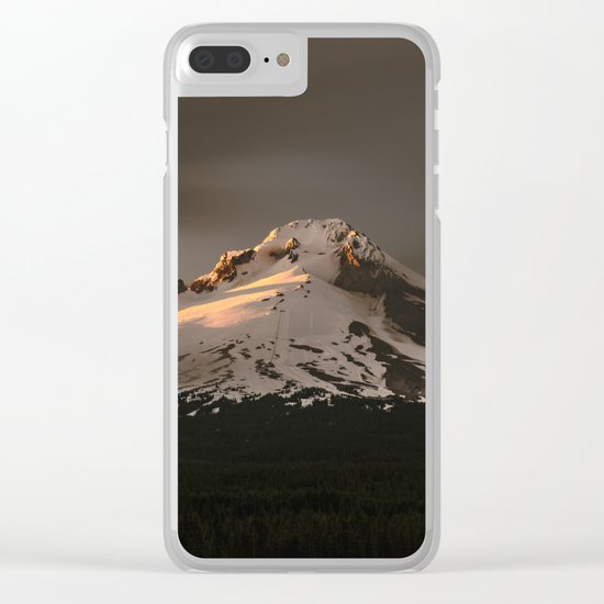 Wy'East Clear iPhone Case