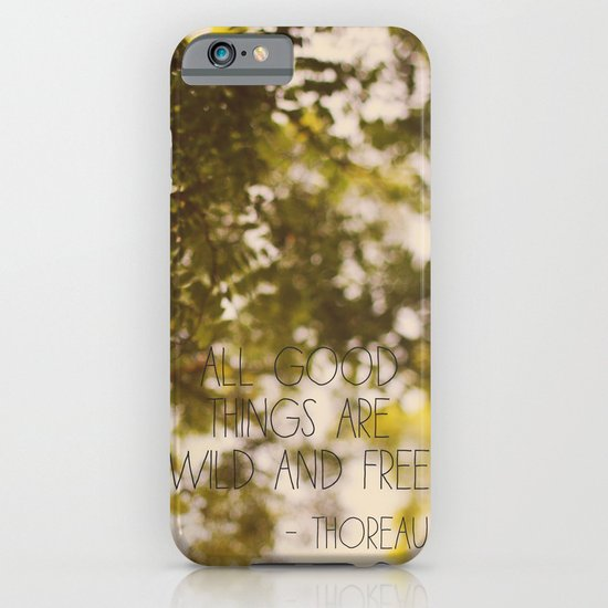 All Good Things iPhone & iPod Case