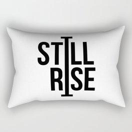 Still I Rise, Maya Angelou, Women's Day Gift Rectangular Pillow