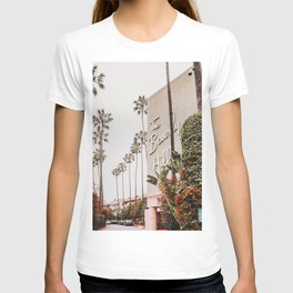 The Beverly Hills Hotel / Los Angeles, California T-shirt