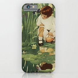 """""""The Fairies Picnic"""" by Jessie Willcox Smith iPhone Case"""