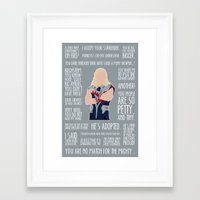 thor Framed Art Prints featuring Thor by MacGuffin Designs