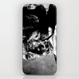 Charles Bukowski - black - quote iPhone Skin