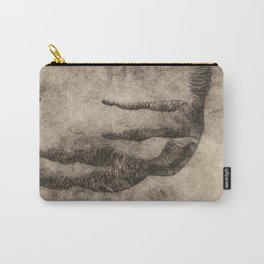 Sad Man Carry-All Pouch