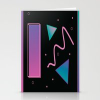disco Stationery Cards featuring disco by Hannah Siegfried
