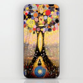 Swefn Treow ( The Dreaming Tree ) iPhone Skin