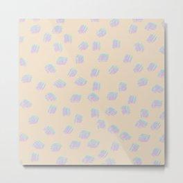 Pattern 02 Metal Print