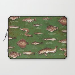 Fishes Laptop Sleeve