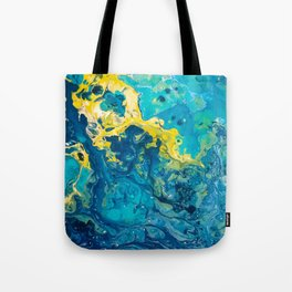 Waves from Space Tote Bag