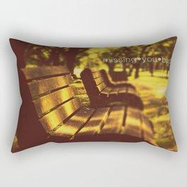 Missing you Badly! Rectangular Pillow